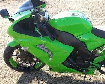 Kawasaki Grün Hochglanz