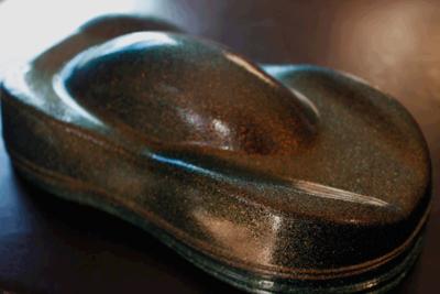 Groen koper oranje kameleon metallic vlok van coating4all